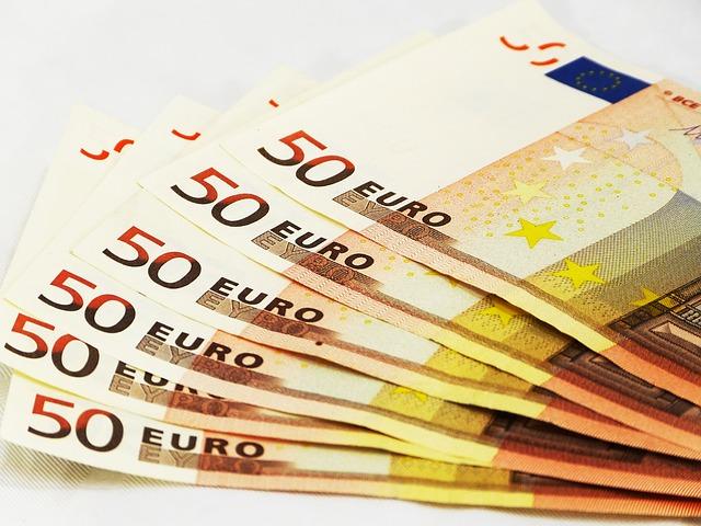 Euro la procente